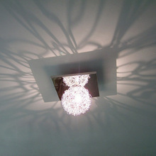 Lamps entranceway exquisite hallway lights brief aluminum wire ball lighting(China (Mainland))