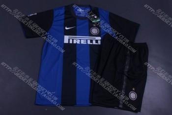 2013 inter milan kid jersey soccer jersey children's clothing child jersey