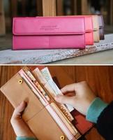 Women's Envelope Wallet Clutch bag fashion Purse Ladies' Card holder Coin bags handbag Free shipping