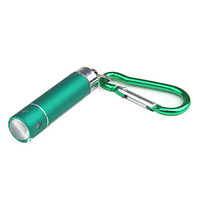 Plum Sculpture Flashlight Keychain (Green)