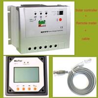 MPPT 20A solar charge controller 12V/24V solar controller regulator Trancer 2215RN With Remote Meter CE certification