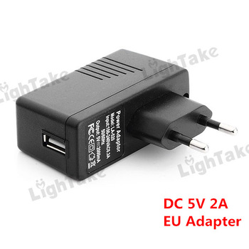 Free Shipping EU Charger Power Adapter with USB Port DC 5V 2A for Tablet PC