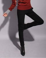 S.j . fashion normic h 2013 elastic pencil pants female all-match thickening skinny pants