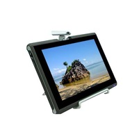10.1 Inch 1024x600 Touch Screen Tablet PC MID With Rotatable Camera, Intel Atom N455 1.66 GHz CPU