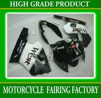 Custom ABS high quality body fairings kit for KAWASAKI 2002-2004 ZX12R white black West bodywork ZX-12R 02-04 racing parts