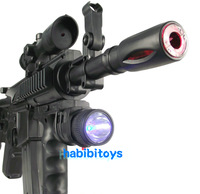 Sound and light submachine gun with shake Children electric toy gun boy sniper gun toys kids birthday gifts