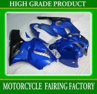 Plastic ABS high quality body fairings kit for KAWASAKI 2002-2004 ZX12R bright blue/black bodywork ZX-12R 02 03 04 racing parts