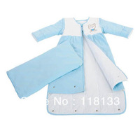 Free shipping wholesale GOOLEKIDS 100% pure cotton King-sized baby sleeping bag Soft and comfortable newborn baby sleepsack