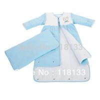 Free shipping wholesale GOOLEKIDS 100% pure cotton King-sized baby sleeping bag Soft and comfortable newborn baby sleepsack