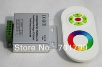 promotion!!! RF wireless rgb tuoch controller,DC12-24V input,4A*3 channel output;white remote