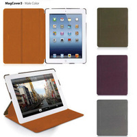 Macally magcover for apple the new for ipad 3 holsteins protective case shell wake up