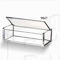 Bakest popular Hot Sales Acrylic tissue box transparent multi-purpose high-grade simple style elegant#JB9047
