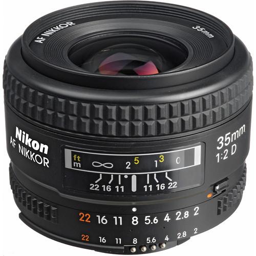 Nikon 35mm f/2D Lens Nikon Wide Angle AF Nikkor 35mm f/2.0D Lens for Nikon D80 D90 D7000 D7100 D300 D600 D610 D700 D800 D3 D4(China (Mainland))
