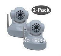 2x Foscam Wireless IP Camera P&T 2Way Audio IR FI8918W (Stronger WiFi Singal)