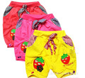 Free shipping 2013 summer children clothes Strawberry Children's shorts girls pants 3 color 3 size