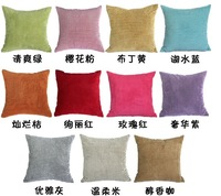2013 new arrival polyester 45*45 home pillow cover in guangzhou