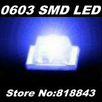 Wholesale-Free Express Shipping! 4000pcs/ reel New 0603 Ultra Bright Blue SMD LED