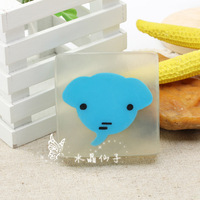 Crystal handmade essential oil soap transparent soap child gift soap cartoon 2a205