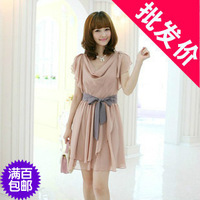 Free shipping---- Autumn one-piece dress autumn sisters equipment honey summer clothes women's