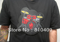 wholesales man's t-shirt  Playable Electronic Drum T-Shirts for man and women free shipping