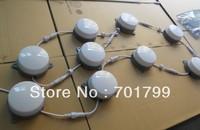 120mm diameter milky cover,DC24V input,WS2811 LED pixel module,12pcs 5050 RGB SMD LED inside