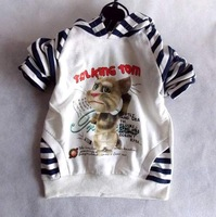 Free shipping wholesale 2013 new design cotton children wear  Hoodies long sleeve t-shirts