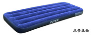 Single beds INTEX inflatable 68757 flocking inflatable mattress Free shipping