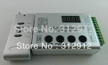 DC5V input WS2811 LED RF pixel controller,max control 1024 pixels;used for DC5V ws2801 pixel strip,modules,nodes.