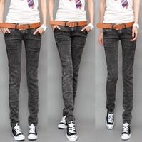 2012 pants casual skinny pants pencil pants denim trousers female