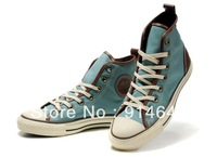 2013 new fashion casual low-top and high-top canvas sneakers shoes for men and women top quality