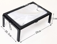 Giant Hands Free Magnifier 3X Magnifying Glass For Sewing Reading Knitting AID[010221]