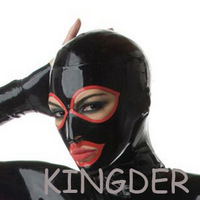 Hot Sale! Latex hood mask 100% pure nature handmade latex