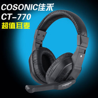 Jiahe ct-770 internet cafe earphones diy earphones undersupplied earphones headset mp3 fashion