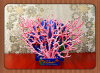 Aquatic plants aquarium coral fish tank aquarium sea water cylinder decoration artificial coral