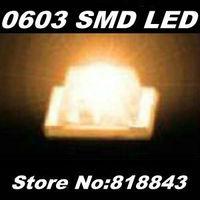 Wholeslae-FREE Express Shipping! 4000pcs/reel  New 0603 Ultra Bright Orange/Amber SMD LED