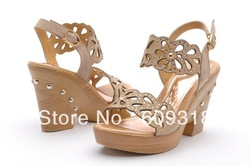 2013 year new summer lady high heel shoe . fashion and cool style women sandls . size : 35-39(China (Mainland))