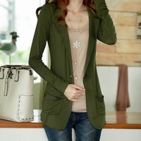 Elegant gentlewomen 2012 autumn knitted short jacket 8830