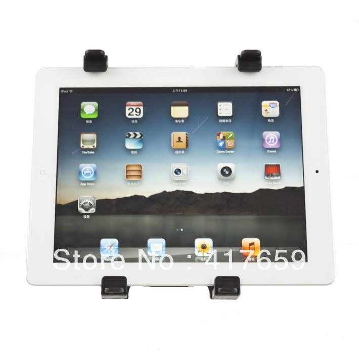 1Pcs Hot Sale Adjustable Car Seat Back Mount for iPad 2 3 Tablet GPS DVD Cradle Holder Stand(China (Mainland))