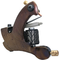 free shipping   new hot  Professional Damascus handmade tattoo machine for liner 10 coils DA-303