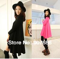 New Korean Free shipping Fashion Irregular dress Maternity Clothes Pregnant Dress #5007