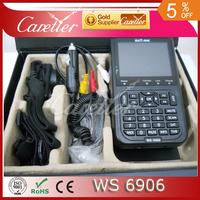 F01940 Satlink WS-6906 DVB-S FTA Digital Satellite Finder Meter TV Signal Receiver WS6906 For setting & aligning (1pc 6906)