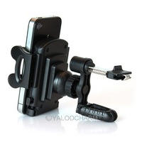1pcs 360 rotation car air vent mount holder multi-drection stand for phone/mp4/pda/gps 80254