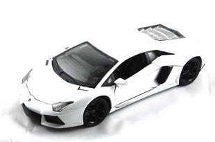 Lamborghini lp700-4 bburago alloy car model white