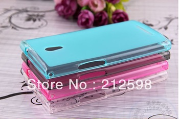 Free Shipping,10 PCS/Lot , High Quality Pudding TPU Case for OPPO Find Way U7015 U705T Case Cover, 4 color available,new arrival