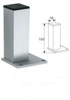 Furniture Leg ,Table leg ,Adjustable table leg,  Height 100mm