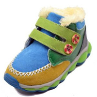 FREE SHIPPING, kids sneaker with flash light, shinning light shoes NICE QUALITY