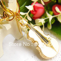 Hot sale Unique Elegant 1GB/2GB/4GB/8GB/16GB/32GB Crystal Violin Usb Flash Drive Pen Drive + Free shipping