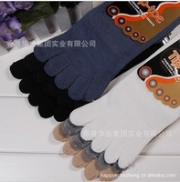 Man of five fingers socks absorbent cotton odor-proof tube of five fingers socks five toe socks