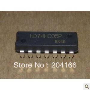 HD74HC05P DIP-14 HD74HC05 74HC05 HC05 HEX INVERTER