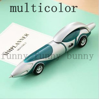 16pcs kawaii stationery cute plastic ball point cartoon car shape pens ballpoint gift unusual novelty items for school supplies